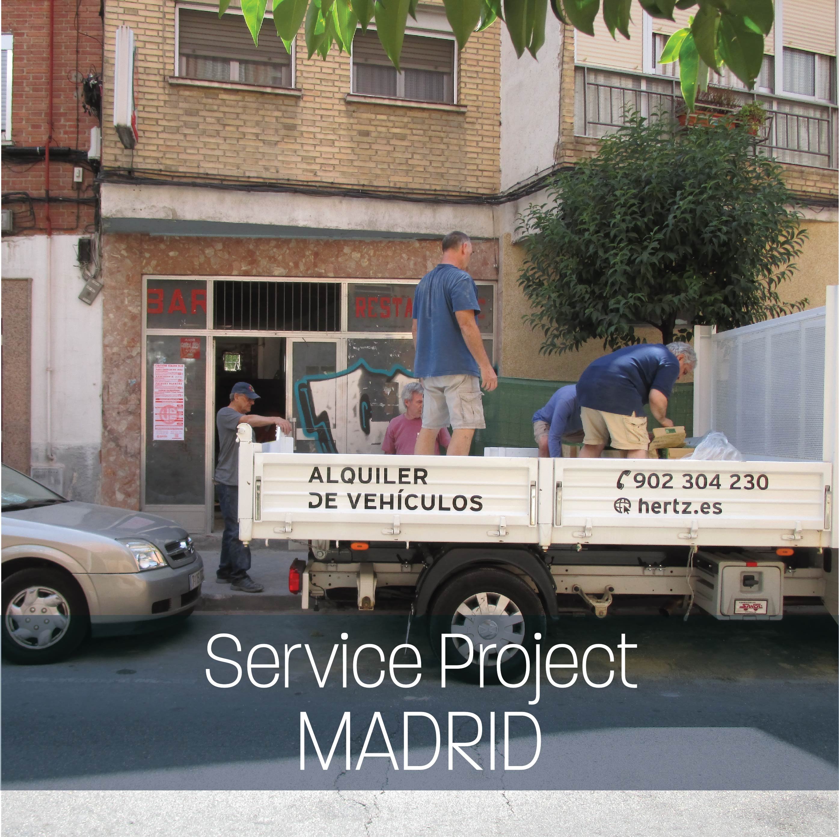 Service Project: Madrid