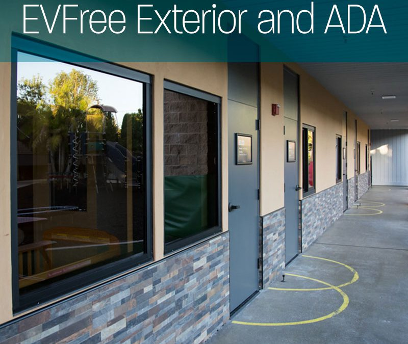 EVFree exterior and ADA